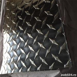 Tabla    aluminiu striata ,stucco grofrata - imagine 2