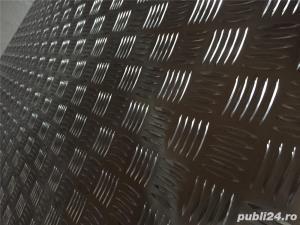 Tabla    aluminiu striata ,stucco grofrata - imagine 6