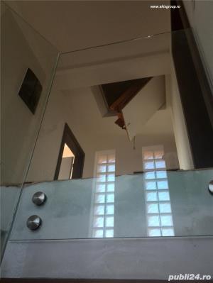 Balustrade sticla, scari sticla, terase sticla, pardoseli sticla, pereti sticla, copertine sticla - imagine 11
