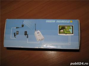 Camera video Wireless noua, emitator receptor, accesorii - imagine 2