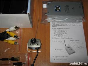 Camera video Wireless noua, emitator receptor, accesorii - imagine 5