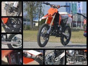 Atv MotoR Hurricane Dirt bike (Garantie 12L) - imagine 1