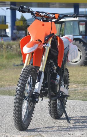 Atv MotoR Hurricane Dirt bike (Garantie 12L) - imagine 3