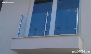 Balustrade sticla, pereti sticla, placare cu sticla, pardoseli sticla - imagine 9