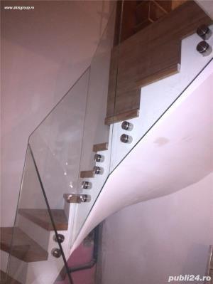 Balustrade sticla, pereti sticla, placare cu sticla, pardoseli sticla - imagine 10