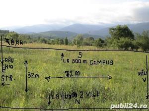2300mp super teren intravilan cu utilitati, munte,rau,padure,strada asfaltata,zona turistica curata - imagine 5