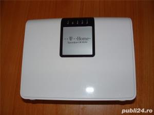 Telekom Speedport W 504V Wlan-router ADSL modem 300 MBit/s, port USB 2.0 - imagine 2