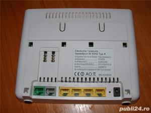 Telekom Speedport W 504V Wlan-router ADSL modem 300 MBit/s, port USB 2.0 - imagine 6