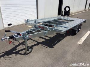 Inchiriez toata gama de remorci si platforme auto 80 ron/zi /Tel 0732442928 - imagine 9