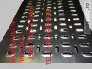 Tabla perforata,zincata Platfome auto,trape,cale ,lungime 2.5 m ,latime 625,grosime 2 si 3 mm - imagine 8