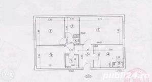 vand apartament 3 camere decomandat confort 1 - imagine 1