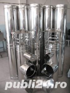 Executam cosuri de fum din inox sau tabla galvanizata - imagine 3