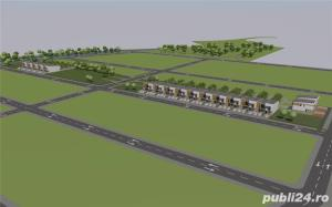 VIND parcele 340-380 mp toate utilitatile BRAYTIM- str. Iuliu Podlipny Timisoara 100 Eur/m2 - imagine 3