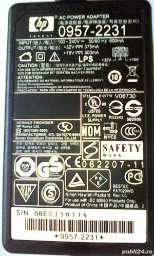 Vand sursa de alimentare imprimanta HP - imagine 1