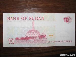 Bancnota de 10 sudanese dinars pentru colectionari - imagine 1