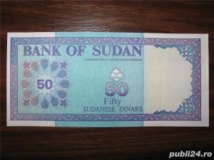 Bancnota de 50 sudanese dinars pentru colectionari - imagine 1