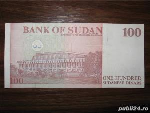 Bancnota de 100 sudanese dinars pentru colectionari - imagine 1