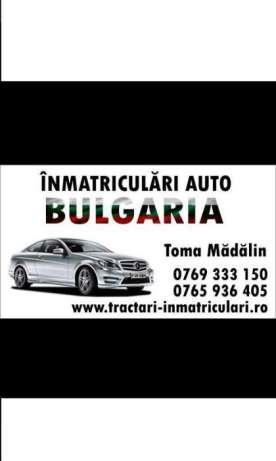 Tractari auto platforma slep non stop inmatriculari Bulgaria asigurari - imagine 4