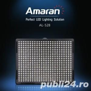 Aputure Amaran AL-528C Bicolor Led Panel CRI+95 – Lampa Bi-colora , produs nou - imagine 1