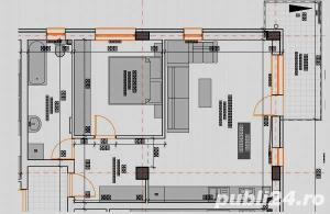 2 camere 55 mp semifinisate,  si loc de parcare subteran inclus in pret - imagine 8