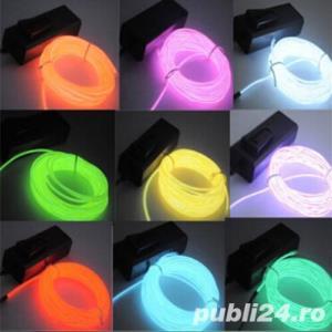 Promotie Fir electroluminescent neon flexibil EL Wire 8lei/m - imagine 2