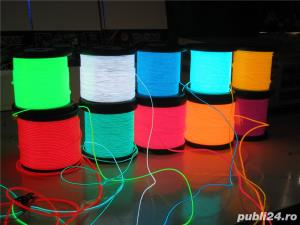 Promotie Fir electroluminescent neon flexibil EL Wire 8lei/m - imagine 1