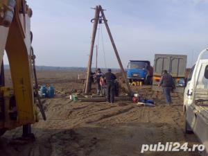Foraje Puturi, denisipari, reparatii puturi, piloni de sustinere - imagine 2