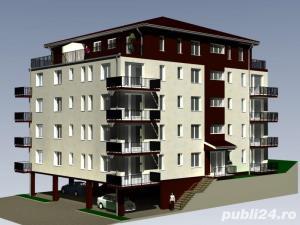 2 camere 55 mp semifinisate,  si loc de parcare subteran inclus in pret - imagine 1