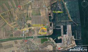 Teren 6 Ha cu acces la A4 si la calea ferata,langa Portul Agigea - imagine 3