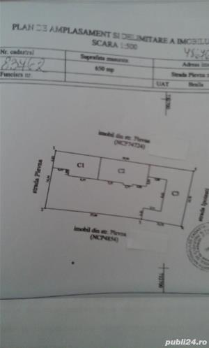 Ultracentral, teren 650 metri patrati (posibil 325+325), 100 000 euro negociabil - imagine 1