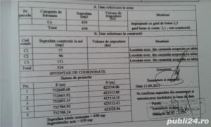 Ultracentral, teren 650 metri patrati (posibil 325+325), 100 000 euro negociabil - imagine 2
