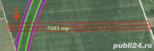 Teren 7083 mp ocolitoarea  centura Brasov Tarlungeni Sacele - imagine 2