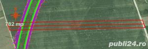 Teren 782 mp centura ocolitoarea Brasov Tarlungeni Sacele - imagine 2