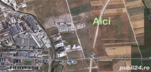 Teren 7012 mp ocolitoarea  centura Brasov Tarlungeni Sacele - imagine 1