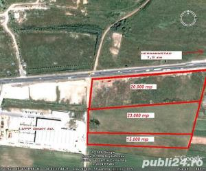 Ter.Industrial ( total 5,33 Ha ):20000mp+23300mp PUZ+10000mp (f.puz)desch.270ml DN1 Sibiu-Cristian - imagine 3
