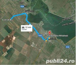 Vand teren 12200 mp, electricitate, gaze. 33500 Euro/teren,  - imagine 3