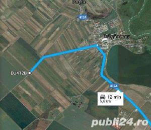 Vand teren 12200 mp, electricitate, gaze. 33500 Euro/teren,  - imagine 5
