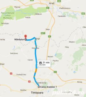 Proprietar Vand 2 Case + Teren cu suprafata generoasa in Manastur Jud Arad - imagine 14