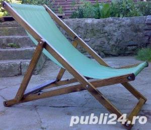 sezlonguri din lemn - 99 RON - imagine 1