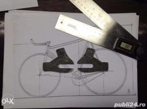 Bicicleta Fixie  Custom  - imagine 6