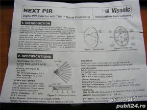 Senzor Digital PIR Visonic NEXTPiR - imagine 7