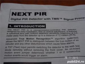 Senzor Digital PIR Visonic NEXTPiR - imagine 8