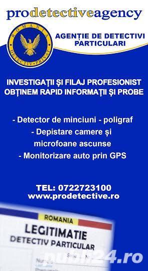 Detectivi particulari autorizati Timisoara,Arad,Oradea,Deva,Brasov,Sibiu,Piatra Neamt,Vaslui - imagine 1