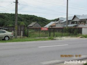 teren intravilan stradal Pitesti-Bascov DN7/E81 imprejmuit/utilitati - imagine 2