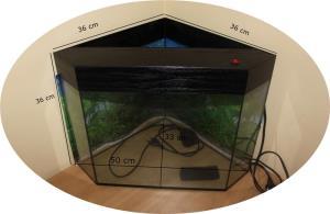 Vand acvariu de colt - imagine 1