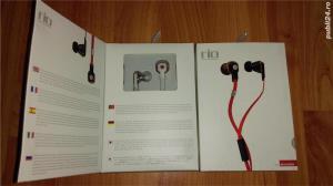 Casti hands-free Noontec Rio Hi-Fi In Ear Cu Microfon Mf3117(W) / Sigilate ! - imagine 2