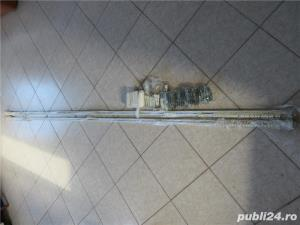 Galerie extensibila din metal draperie/perdea - 2 buc. - imagine 1