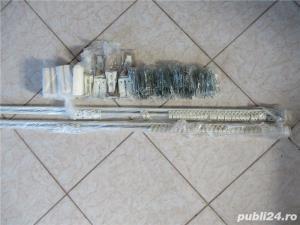 Galerie extensibila din metal draperie/perdea - 2 buc. - imagine 2