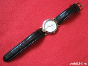Ceas de firma Richelieu Swiss Made original placat Au 10+ - imagine 4