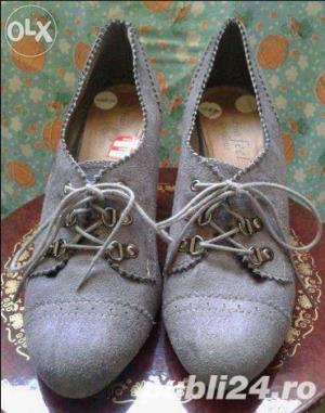 Ieftin! Lot Pantofi superbi Piele naturala Italia & New Look UK ,39-41  - imagine 2